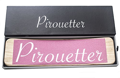 Frank Frog Pirouetter | Pink Ballet Turning Board | Sturdy Canadian Maple Wood, Gift Box | Improve Your Turns and Pirouettes