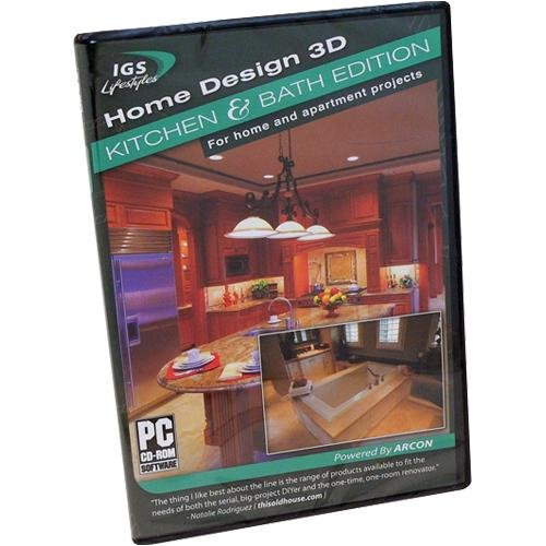 Amazon.com: Home Design 3D: Kitchen And Bath Edition - PC ...
