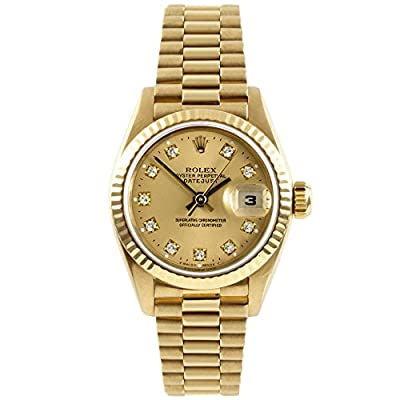 Rolex Datejust swiss-automatic womens Watch 69178 (Certified Pre-owned) by Rolex