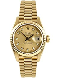Datejust Swiss-Automatic Female Watch 69178 (Certified Pre-Owned)