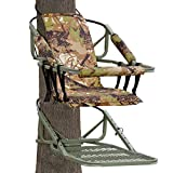 Tree Stand Climber Climbing Hunting Deer Bow Game Hunt Portable with Harness