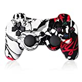 PS3 Controller Wireless Remote Control SIXAXIS Double Shock Gamepad with Charger Cable for Playstation 3