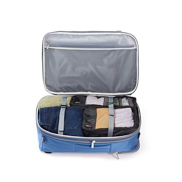 AmazonBasics - Zaino da viaggio/bagaglio a mano, Blu navy - 50L 4 spesavip