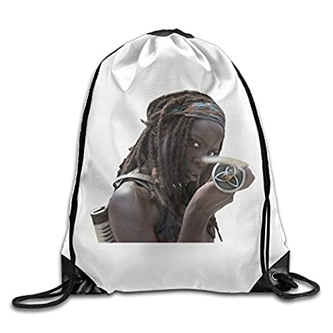 Carina THE WALKING DEAD AMC Michonne & Sword Logo 1 Fashion Backpack One Size (Watch Shameless Season One)