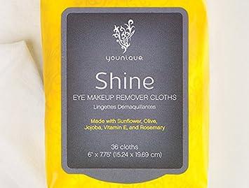 Toallitas desmaquillantes Younique Shine Eye para ojos: Amazon.es: Belleza