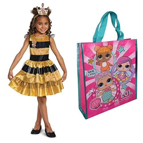 Disguis Classic Queen Bee Costume Size Bonus Trick Treat LOL Surprises Bag