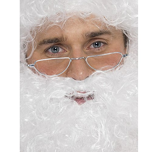 Santa Half Moon Specs Costume - Half Glasses Moon