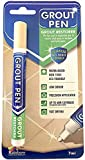 Grout Pen - Designed for Restoring Tile Grout in bathrooms & Kitchens (Cream)