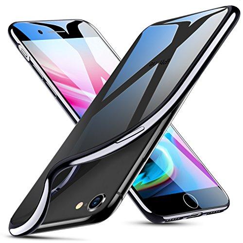 ESR iPhone 8 Case, iPhone 7 Case,Slim Clear Soft Flexible TPU Cover for 4.7 iPhone 8 (2017 Release)/ iPhone 7 (2016 Release)(Black)