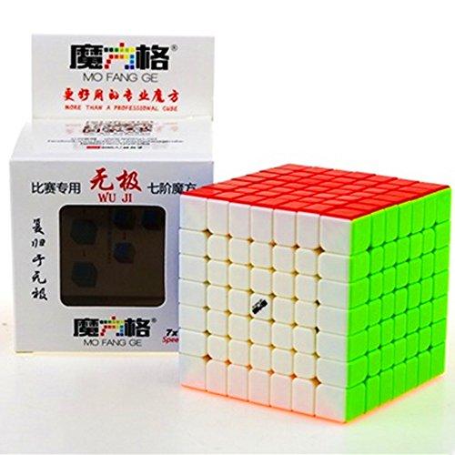 CuberSpeed QiYi WuJi Stickerless Magic cube mofangge WuJi Stickerless