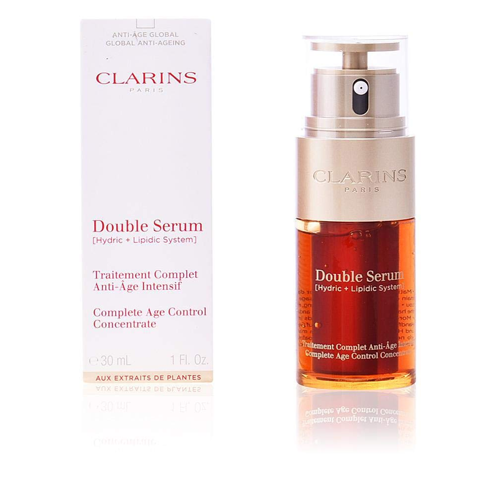 Clarins Double Serum (Hydric + Lipidic System) Complete Age Control Concentrate 14967 50ml/1.6oz by Clarins