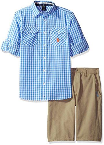 Gingham Boy Short - 4