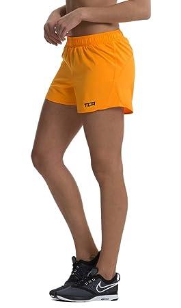 TCA Femme Pulse Short de Course Léger avec Poche Zippée  Amazon.fr ... 77f215cfbc6