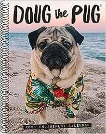 Doug the Pug 2021 Engagement Calendar (Dog Breed Calendar ...