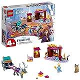 LEGO Disney Frozen II Elsa's Wagon Carriage Adventure 41166 Building Kit with Elsa & Sven Toy Figure, New 2019 (116 Pieces)