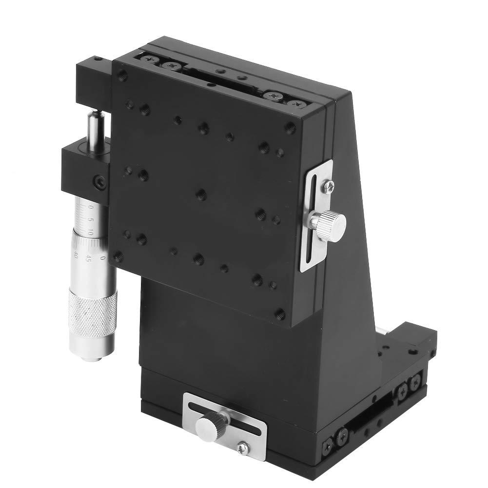 SEMXZL80-AS Aluminium Alloy Linear Guide Rail Slide Suitable Linear Sliding Table Black