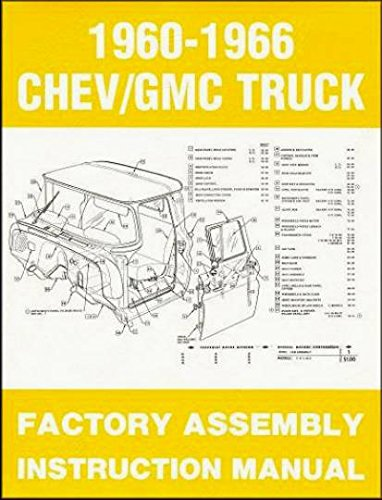 1961 Chevrolet Truck (COMPLETE, FULLY ILLUSTRATED 1961 CHEVY & GMC TRUCKS & PICKUPS FACTORY ASSEMBLY INSTRUCTION MANUAL - INCLUDES C10, C20, C30 K10. K20, K30, Panel, Pickup, Suburban - CHEVROLET)
