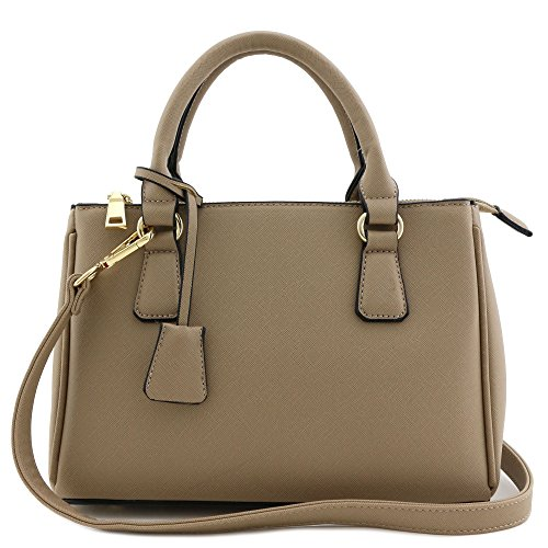 Small Top Zip Handbag - 3