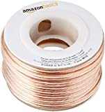 AmazonBasics 16-Gauge Audio Stereo Speaker Wire