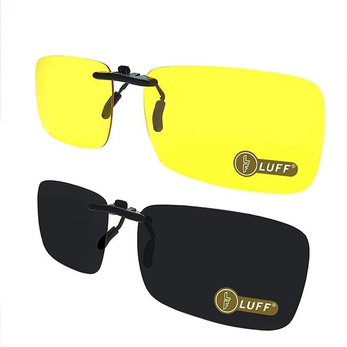 Amazon.com: Luff 2 pares de gafas HD de visión nocturna + ...