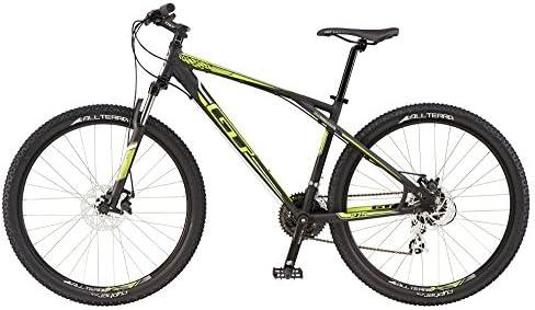 27.5 Mountain Bike MTB GT Aggressor Comp Black/Neon Yellow Modelo 2016, color , tamaño 38 cm, tamaño de cuadro 38.00 centimeters, tamaño de rueda 27.00 inches: Amazon.es: Deportes y aire libre