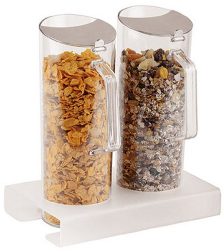 APS-Paderno-World-Cuisine-Plexiglass-Cereal-Jug-Duo-and-11-Inch-Tall-Base-16-QuartEA