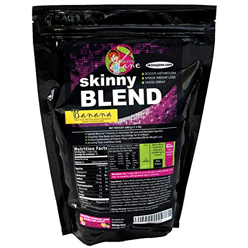 Skinny Blend – Best Tasting Protein Shake for Women – Smoothie Powder – Weight Loss Shakes – Meal Replacement – Low Carb…
