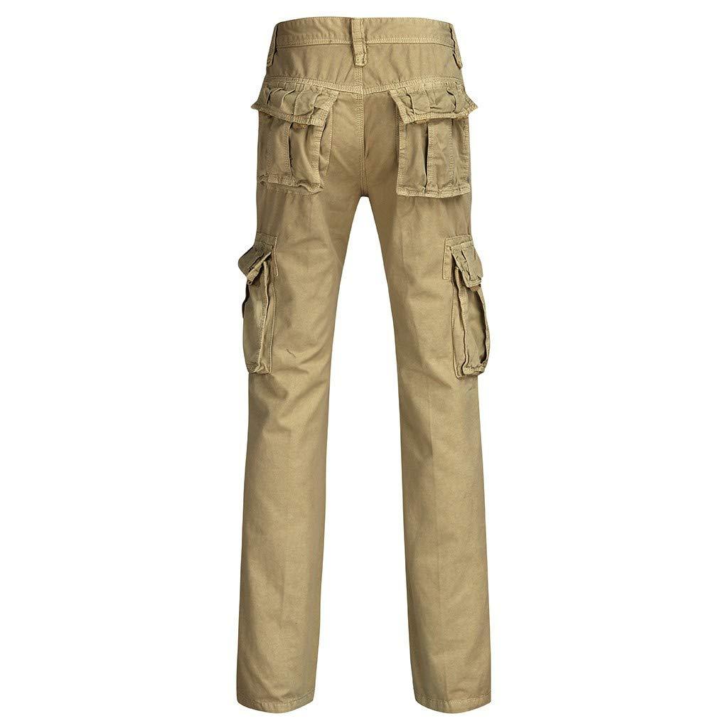 Amazon.com: Pantalones de carga para hombre de ajuste ...