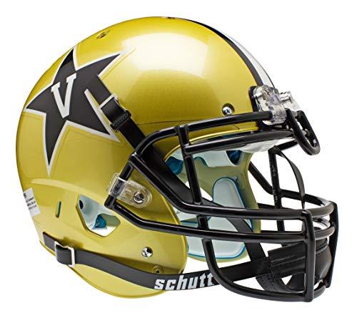 NCAA Vanderbilt Commodores Authentic XP Football Helmet