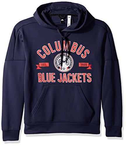 adidas Men's Misconduct Team Issue Fleece Pullover Hood, Dark Navy, Medium
