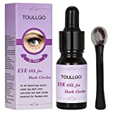 Facial Massage For Eye Bags - Eye Oil For Dark Circles, Eye Serum for Dark Circles and Puffiness, Eye Massage Oil, Natural Facial Skin Care Under Eyes Bags Puffy Dark Circles Spot Puffiness Wrinkles (10ml) + Massage Stick