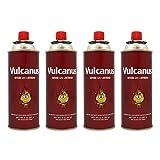 ROM AMERICA [ 4 Packs ] Vulcanus Butane Gas Cartridge Fuel...