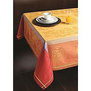 Blumara - Arles Nappe et 8 serviettes 150x250cm
