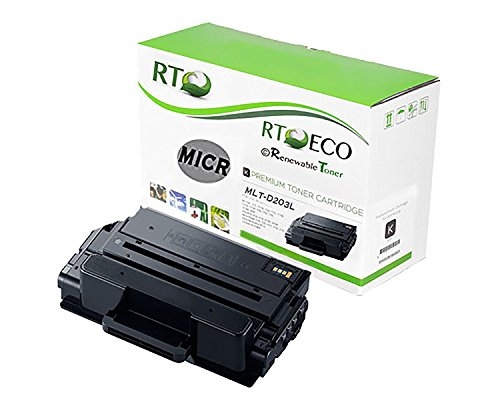 Renewable Toner Compatible High Yield MICR Toner Cartridge Replacement for Samsung MLT-D203L ProXpress M3370 M3870 M4070 SL-M3870 M3320 M3820 M4020