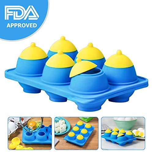 Eggibles: Egg Bites In A Dash, Hard Boiled And Poached Egg Cooker, No Peeling Egg Shells, Boil Multiple Eggs Or 1