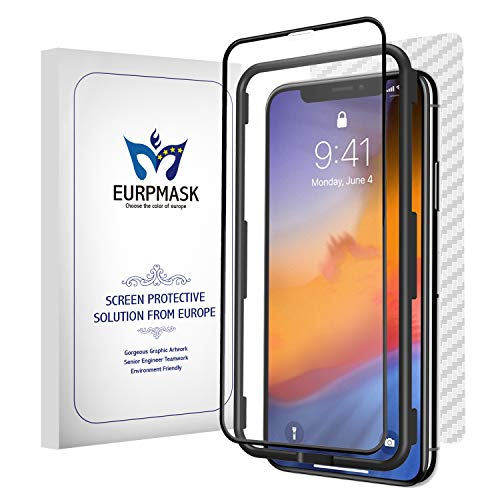EURPMASK Matte Tempered Glass Screen Protector Compatible with iPhone XR (6.1