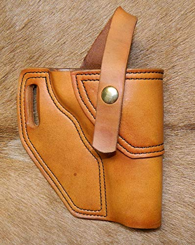 Gary C's Leather OWB Avenger RH Leather Holster for Smith & Wesson K Frame 4