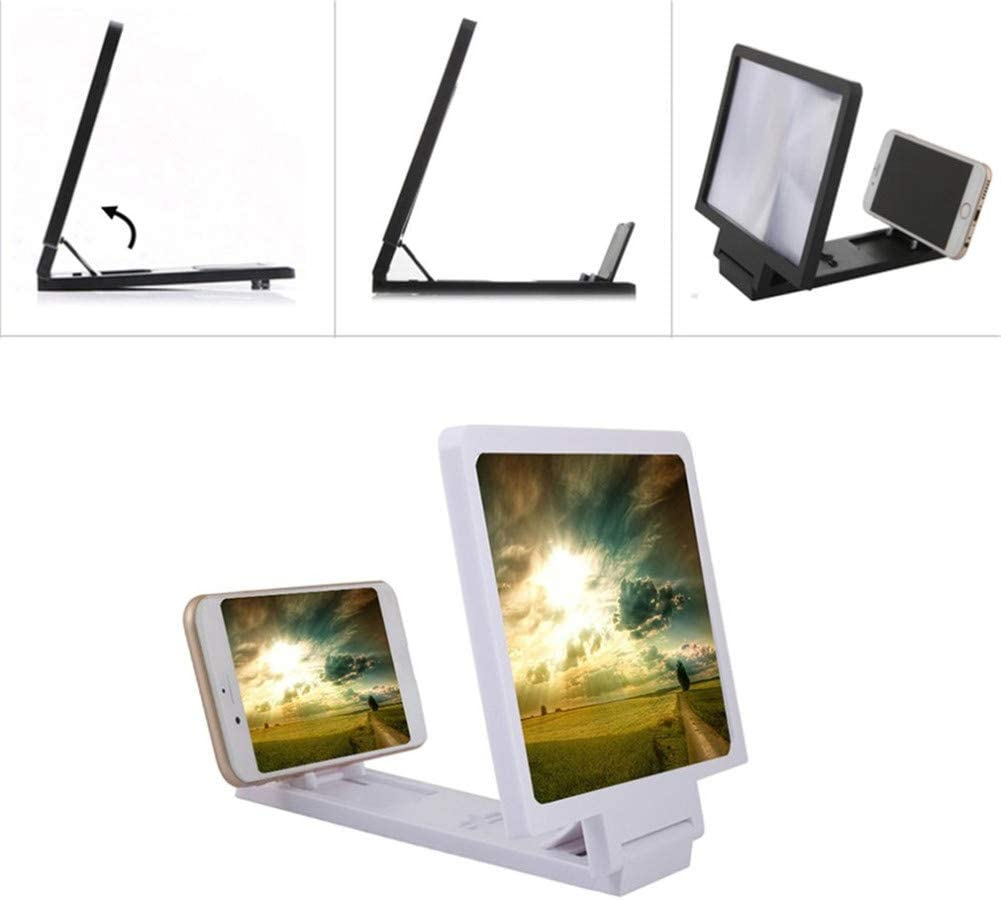 3D Screen Magnifier for Mobile Phone HD Video Player Mobile Folding Stand Magnifying Expander