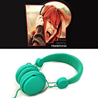 Noise Isolating Dependable Durable Studio Headphones - Green