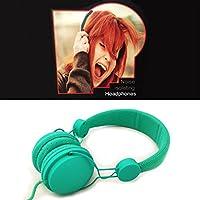 Noise Isolating Dependable Durable Studio Headphones - Green