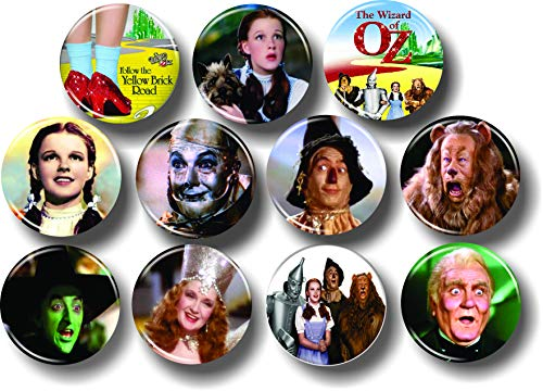 Wizard of OZ Buttons 1.25