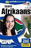 Talk Now Learn Afrikaans: Essential Words and Phrases for Absolute Beginners (PC/Mac) by EuroTalk 2Rev Edition (2000)