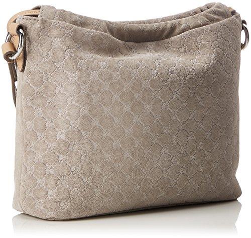 Joop! Velluto Stampa Mia Shoulderbag Mhz - Borse a spalla Donna, Grau (Light Grey), 9x25x26 cm (B x H T)