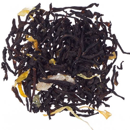 Peach Loose Leaf Tea with Real Peach Flavor and Fair Trade Certified - 1 Pound by Buffalo Buck's Coffee