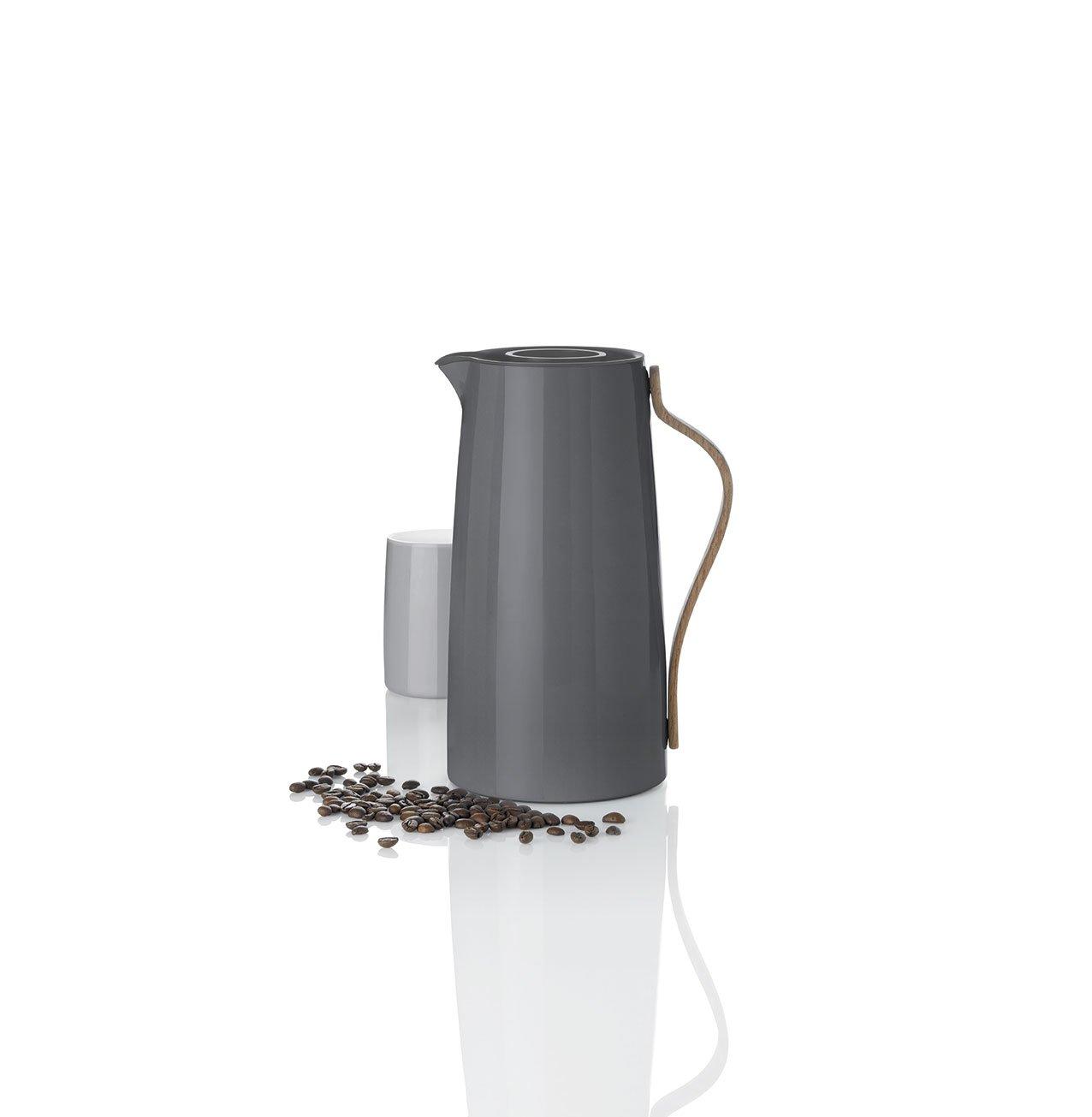 Stelton Emma Cofee Vacuum Jug Stainless Steel - Grey by Stelton