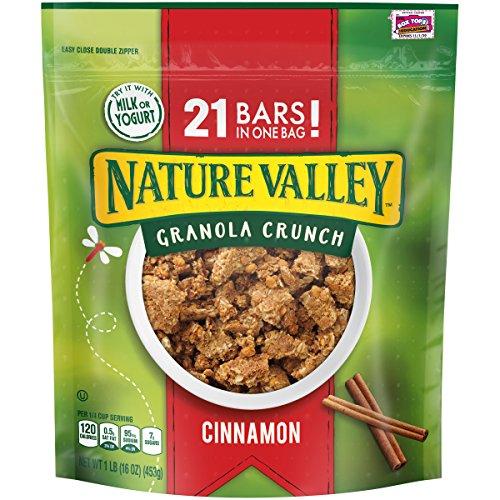 Nature Valley Granola Crunch, Cinnamon, 16 (Cinnamon Crunch Granola)