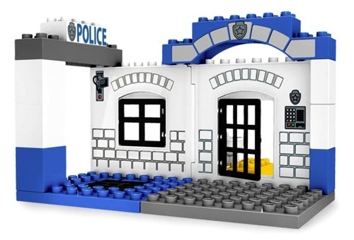 Lego Ville Year 2008 Duplo Series Vehicle Set # 5602 - POLICE ...