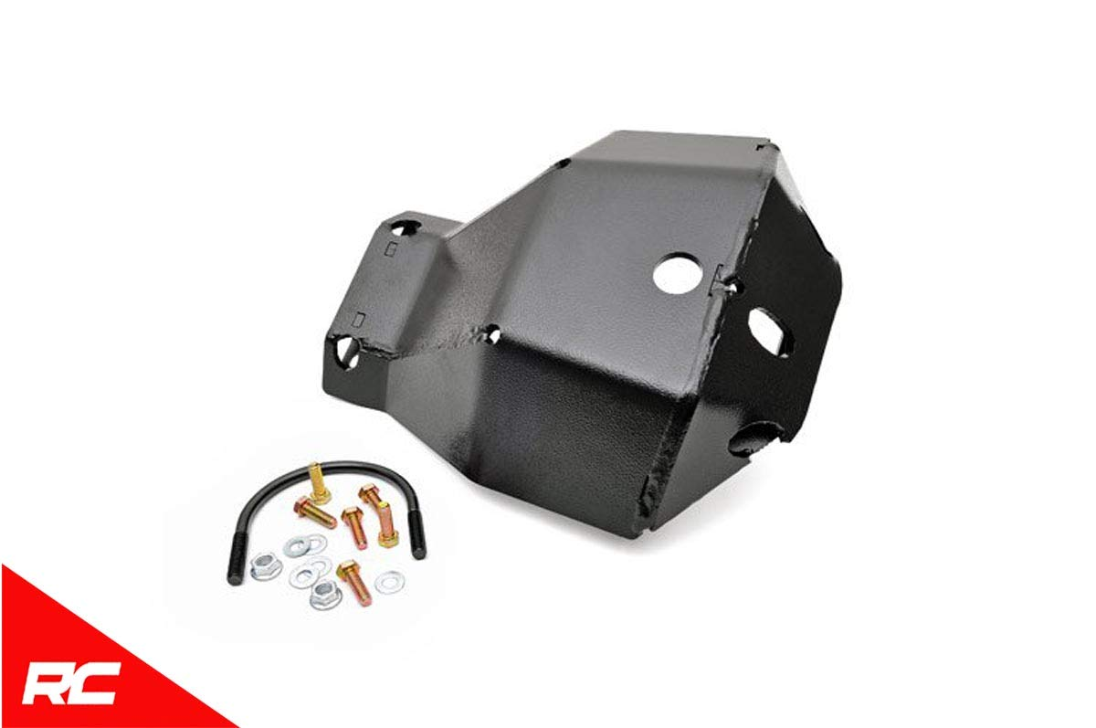Rough Country Front Dana 30 Skid Plate Compatible w/ 2007-2018 Jeep Wrangler JK System 30 Front Differential Armor 797