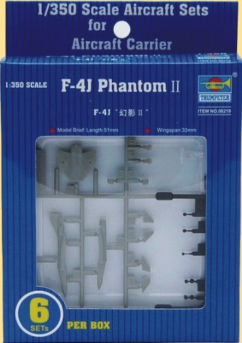 Trumpeter 1/350 F4J Phantom II Aircraft Set for USS for sale  Delivered anywhere in USA