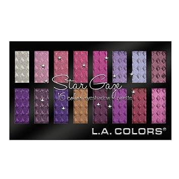 Amazon.com : L.A. Colors Star Gaze ~ 16 Color Eyeshadow Palette ...